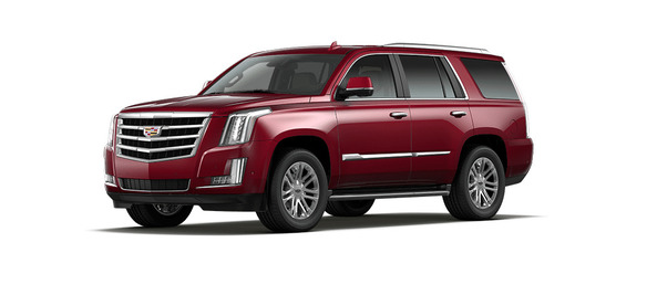 Cadillac Escalade màu Red Passion Tintcoat